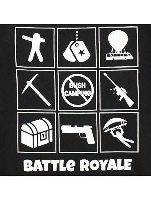 Battle Royale Boys' Gaming T-Shirt