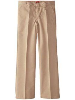 Girls' Flat Front Pant