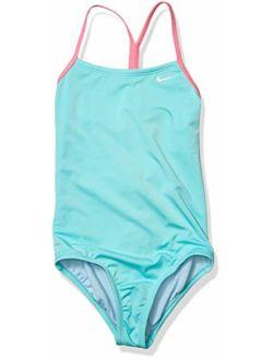 Girls' Big Racerback One Piece Swimsuit