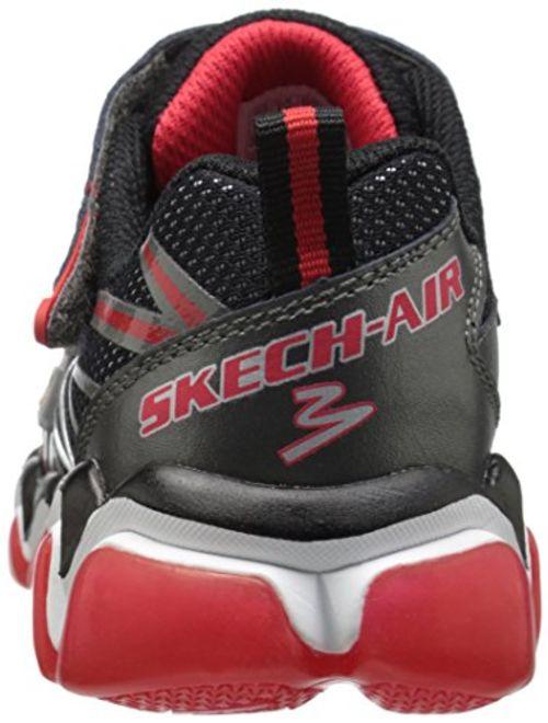 Skechers Kids Boys Skech Air 3.0 Rupture Velcro Strap Sneaker (Little Kid/Big Kid)
