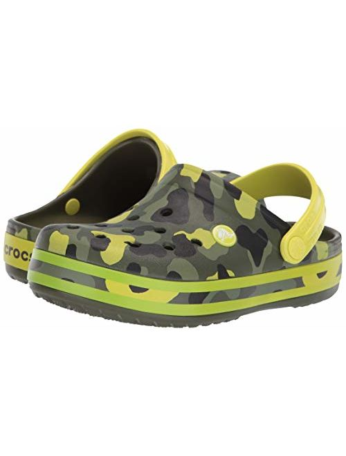 Crocs Kids' Crocband Camo Graphic Clog