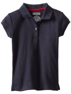 Girls' Short Sleeve Polo Shirt