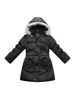 Richie House Girls' Padding Winter Jacket Size 4-10 RH0785