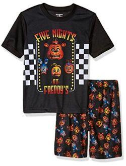 Intimo Boys Five Nights At Freddy's Big Boys' Animatronic Bunch Pajama Set
