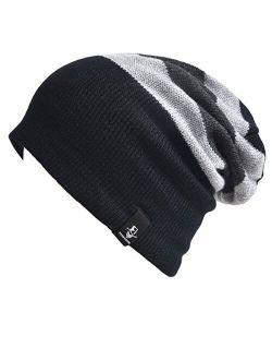 VECRY Kids Slouchy Beanie Winter Hat Cute Boys Girls Children Knitted Skull Cap