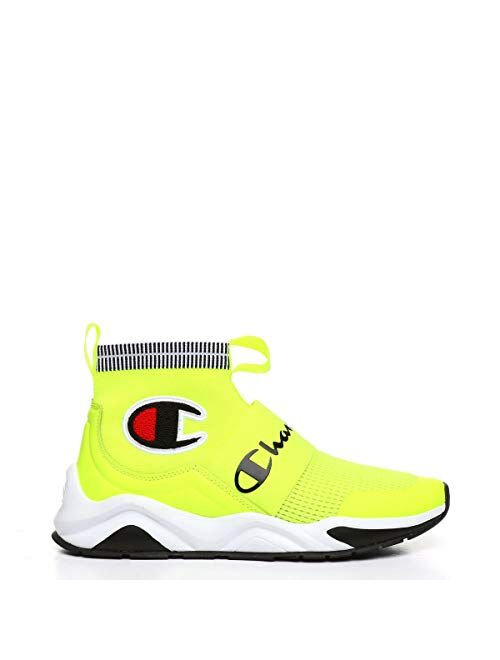 Champion Boy's Rally Pro Big C Knit Sock Top Balenciaga Look Sneaker