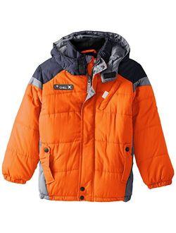 Big Boys' Puffer Coat With Hood