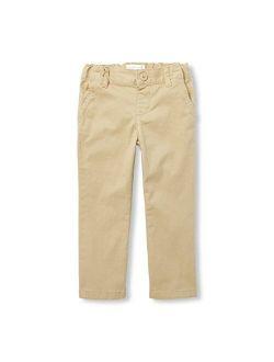 Toddler Girls' Uniform Bootcut Pants