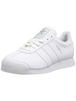 Samoa White/white/silver Sneaker (little Kid/big Kid)