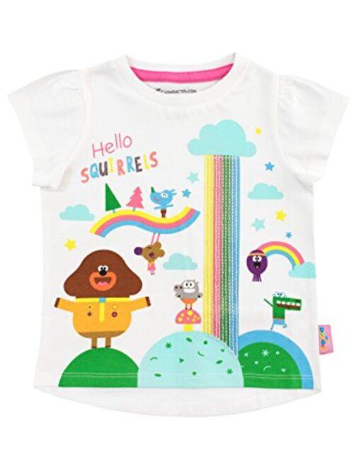 Hey Duggee Girls' Squirrel Club T-Shirt