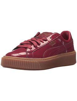 Women's Basket Platform Patent Wn Sneaker
