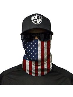 American Flag Ski Masks for Men - Winter Face Mask for Men - Balaclava Face Mask - Neck Gaiters for Men - SA Face Shields - Neck Gaiter Women - American Flag Face Mask -