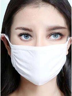 Solid Dustproof Face Mask