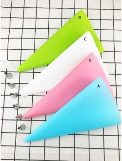 1pc Pastry Bag With 6pcs Piping Nozzles