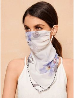 Floral Sun Protection For The Face