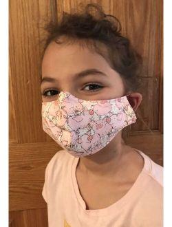 1 Handmade Washable Child Kid Toddler Girl Boy Adult Face Mask: Pig