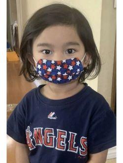 Kids USA Face Mask HandMade Washable Cotton Fabric Double Layer Girls Boys
