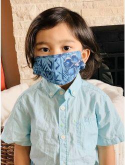 Kids Face Mask HandMade Washable Cotton Fabric Childrens Layer Girls Boys USA