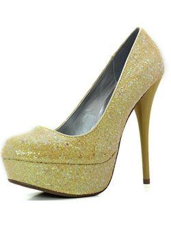 Women's Platform Party Classic Sky High Heel Stiletto Pump Shoes