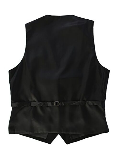 Gioberti Mens Formal Suit Vest