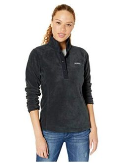 Womens Benton Springs 1/2 Snap Pullover, Soft Fleece Jacket, Classic Fit
