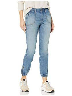 D - Goodthreads Women's Denim Cargo Jeans