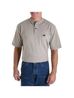 Riggs Workwear Men's Short Sleeve Henley