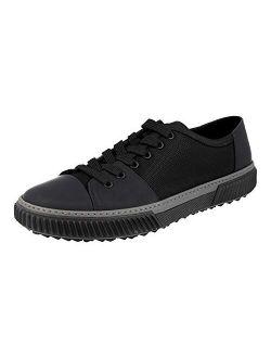 Men's 4e3058 Leather Sneaker
