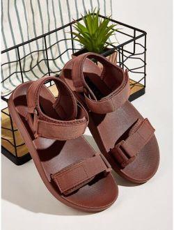 Minimalist Ankle Strap Velcro Strap Sandals
