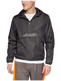 Starter Men's Popover Packable Jacket, Amazon Exclusive