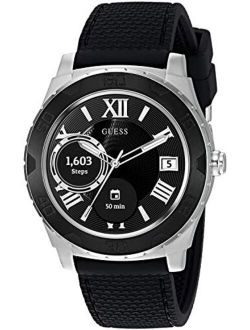 Men's Stainless Steel Android Wear Touch Screen Silicone Smart Watch