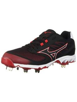 Men's 9-spike Dominant Ic Low Metal Baseball Cleat Athletic Shoe
