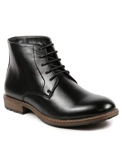 Metrocharm MC132 Men's Lace Up Casual Fashion Ankle Oxford Boot