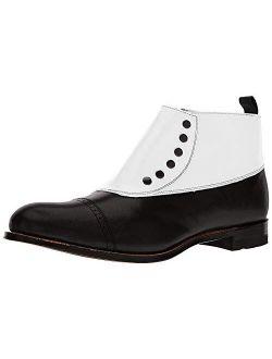 Men's Madison Cap-toe Spat Boot