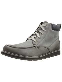 - Men's Madson Moc Toe Waterproof Leather Boots
