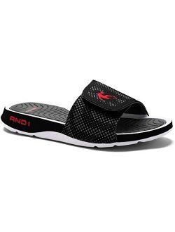 Enigma 2.0 Men's Athletic Slippers, Adjustable Width