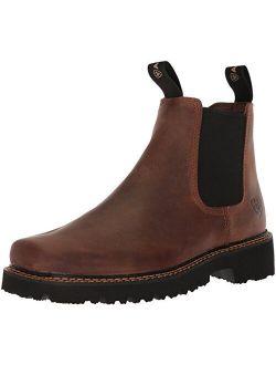 Men's Spot Hog Wide Square Toe Western Boot