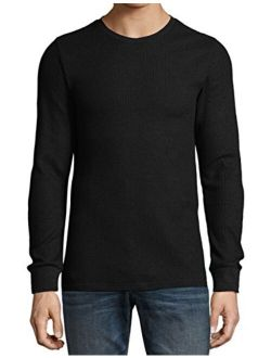 Ma Croix Premium Mens Thermal T Shirts Waffle Pattern Heavyweight Longsleeve Soft Big and Tall Active Cotton Knit