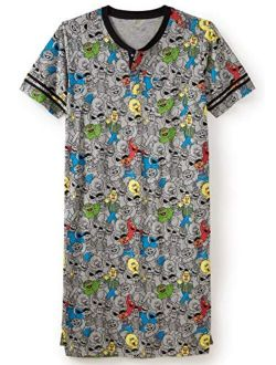 KingSize Men's Big and Tall Novelty Nightshirt