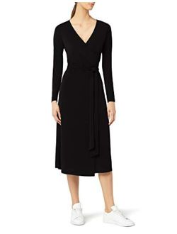 Amazon Brand - Meraki Women's Wrap Dress