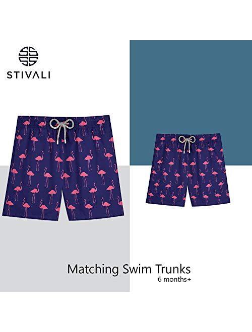 Stivali Father and Son Matching Swim Trunks