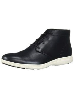 Men's Grand Tour Chukka Black Leather/ivory Boot