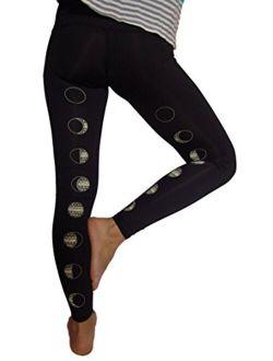 teeki - Designer Active Wear - Moon Dance Black Hot Pant
