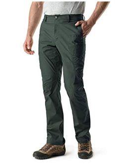 Men's Hiking Pants, Water Repellent Outdoor Pants, Lightweight Stretch Cargo/straight Work Pants, Upf 50+ Outdoor Apparel