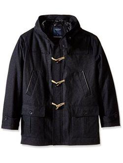 Men's Big Wool Toggle Coat