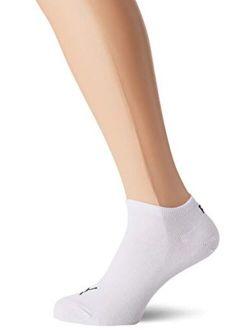 Men's & Women's 3 Pair Invisible Sneaker Socks 6.5-8.5 White 2