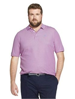 Men's Big And Tall Advantage Performance Short Sleeve Solid Polo Shirt (discontinued)