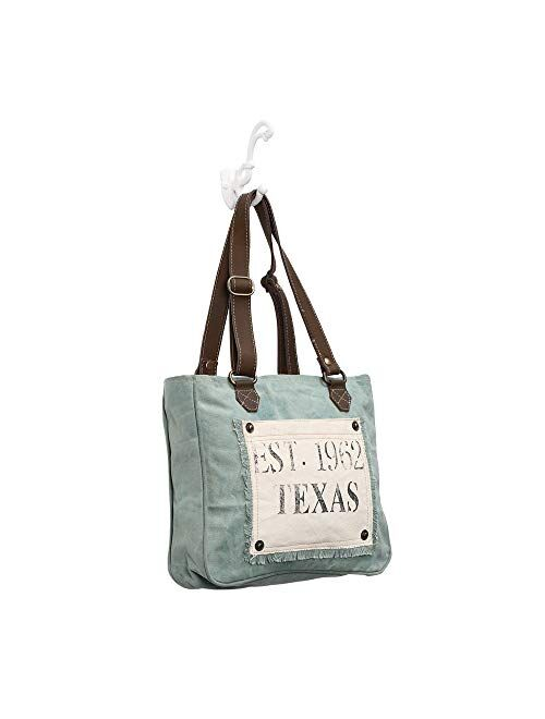 Myra Bag Turquoise Texas Upcycled Canvas Hand Bag S 0885 Topofstyle Shop for mancro backpack diaper bags | walmart.com in diapering at walmart and save. myra bag turquoise texas upcycled