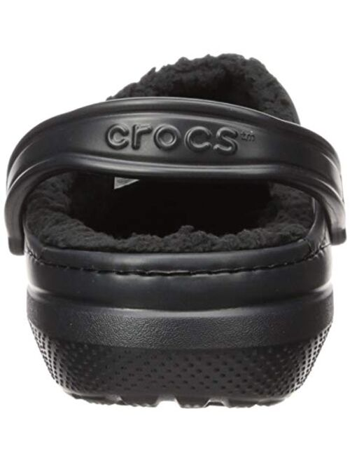Crocs CROC Men's and Women's Classic Lined Clog | Warm and Fuzzy Slippers