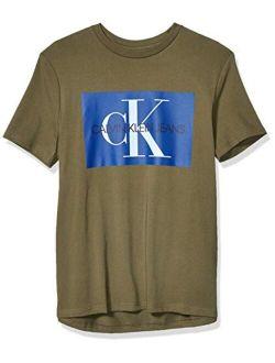 Men's Short Sleeve Monogram Logo T-shirt